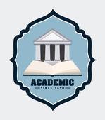 University design — Stock Vector