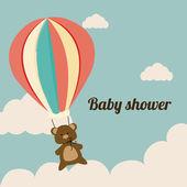 Projeto do chuveiro de bebê — Vetorial Stock
