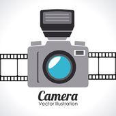дизайн камеры — Cтоковый вектор