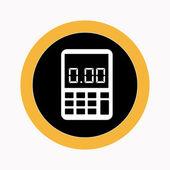 Calculator design — Stock Vector
