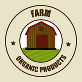 Farm design — ストックベクタ