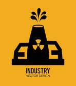 Industrie design — Stockvektor