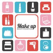 Cosmetics design — Stock Vector