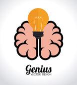 Ideas design — Stock Vector