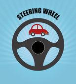 Steering design  — Stock Vector