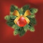 Christmas ball — Stock Vector #7950643