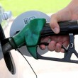 Stock Photo: Gas Station Refill Hand and Nozzle