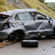 Car Accident and Wreckage — Stock Photo