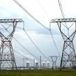Power and Energy Pylons — Stock Photo