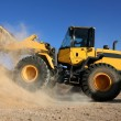 Bulldozer Working with Sand — Stock Photo #40300985