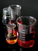 Laboratory Flasks Glassware — Foto de Stock