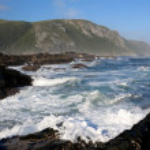 Coastal Scene in South Africa — Stock Photo
