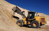 Front End Loader in Sand Quarry — Stock fotografie