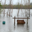 Flood in Midwest - Stockfoto