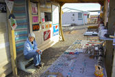 Visitor center at Navajo Reservation — Stock Photo