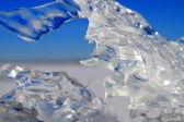 Ice fragment — Stock Photo