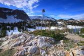 Rocky terrain of Wyoming — Stock Photo