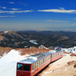 Pikes Peak Train — Foto de Stock