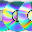 Compact disks — Stock Photo #14087390
