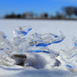 Stock Photo: Ice fragment