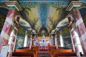 Tropical church interior — Stock Photo