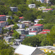 Stock Photo: View of island town
