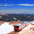 Pikes Peak Train — Stock Photo #14378421