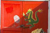 аннотация дракона — Стоковое фото