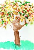 Arte de criança — Foto Stock