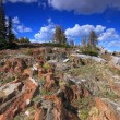 Rocky terrain of Wyoming — Stock Photo