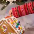 Stock Photo: Christmas activities