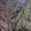 Royal gorge — Stockfoto