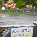 ������, ������: No bananas
