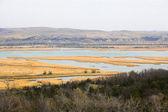 Ríos y lagos de la pradera — Foto de Stock