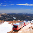 Pikes Peak Train — Stock Photo