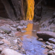 Stock Photo: Canyon creeks and rivers