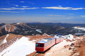 Pikes Peak Train — 图库照片