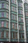Koperen gebouw — Stockfoto