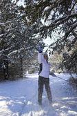 Esqui nebraska — Foto Stock