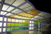 Chicago airport — Stock Photo