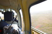 Hubschrauber-foto — Stockfoto