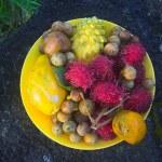 Постер, плакат: Exotic fruit plate