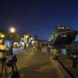 Stock Photo: Tourist promenade in the evening