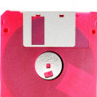 Pink diskette — Stock Photo #17002907
