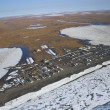 Arctic tundra from air — Stock Photo #17002933