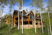Mountain resort house — Stockfoto