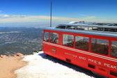 Pikes peak tåg — Stockfoto