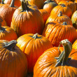 Stock Photo: Helloween pumpkin