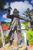 Pirate garden — Stock Photo