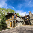 Mountain resort house - Foto Stock